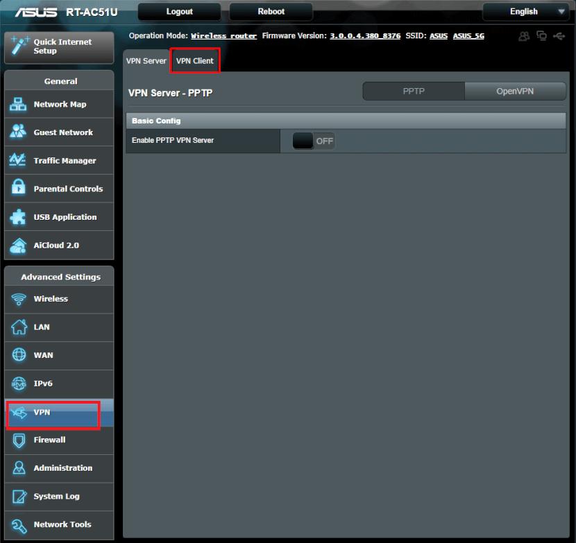 ASUS VPN Client