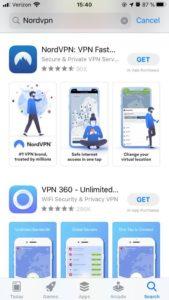 download nordvpn appstore