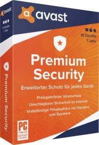 Avast Antivirus Premium Security