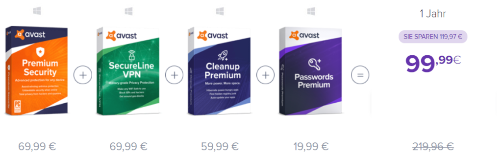 Avast Ultimate Kosten