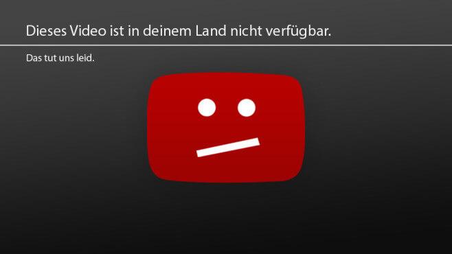 Geoblocking YouTube