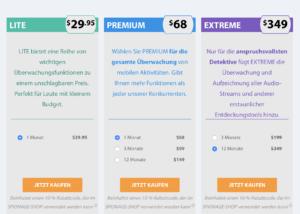 Kosten FlexiSpy