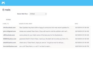 E-Mail Überwachung mSpy
