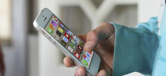 handy iPhone Benutzung