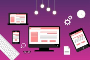responsive homepage grafik
