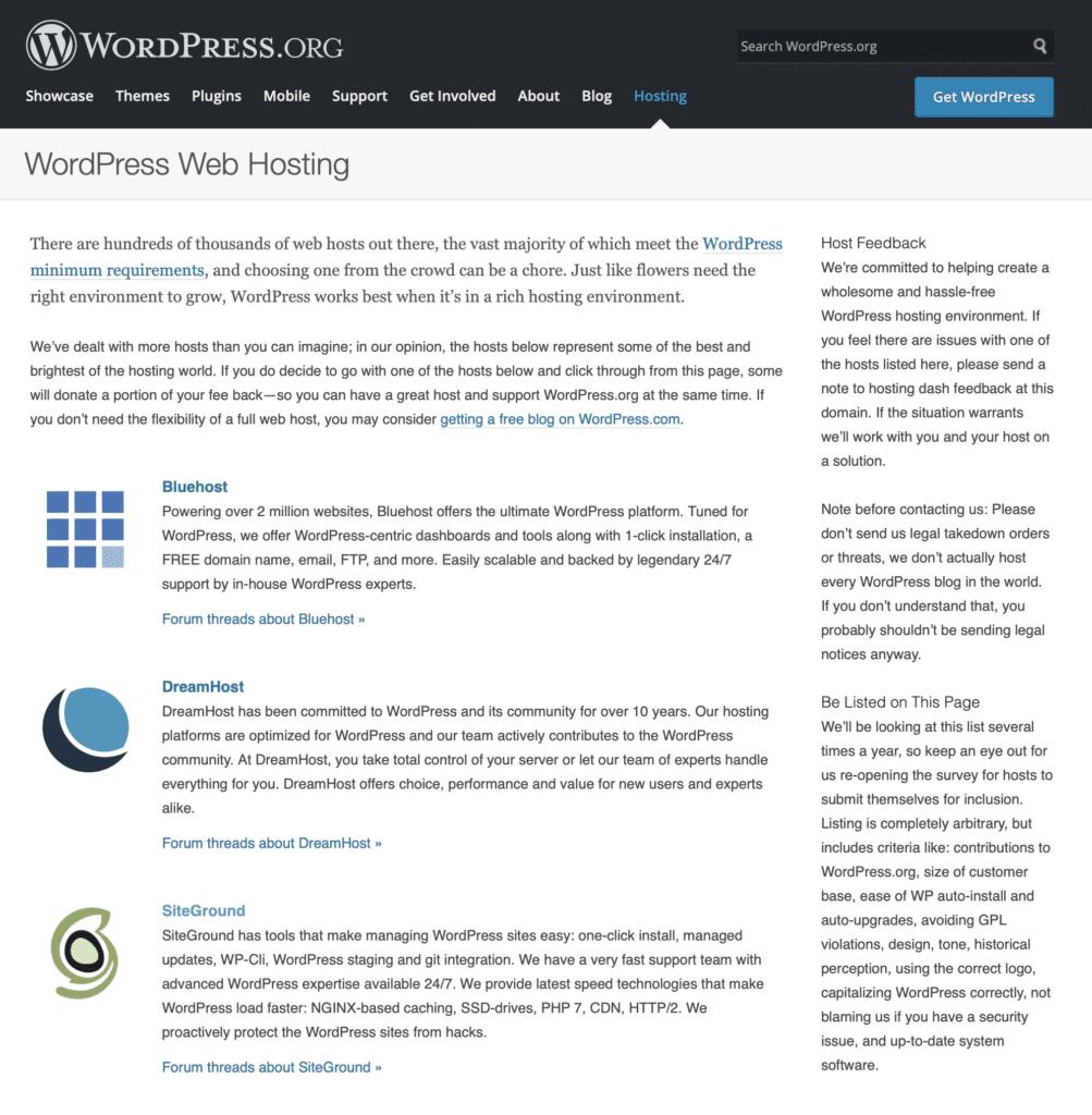 SiteGround WordPress Empfehlung