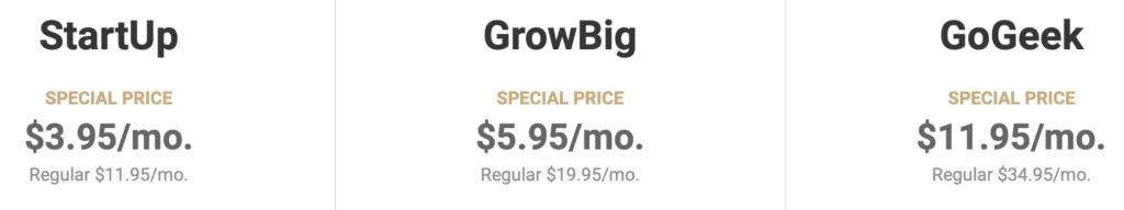 SiteGround Kosten Verlängerung