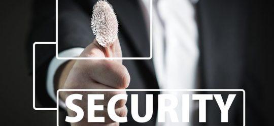Sicherheit Fingerabdruck