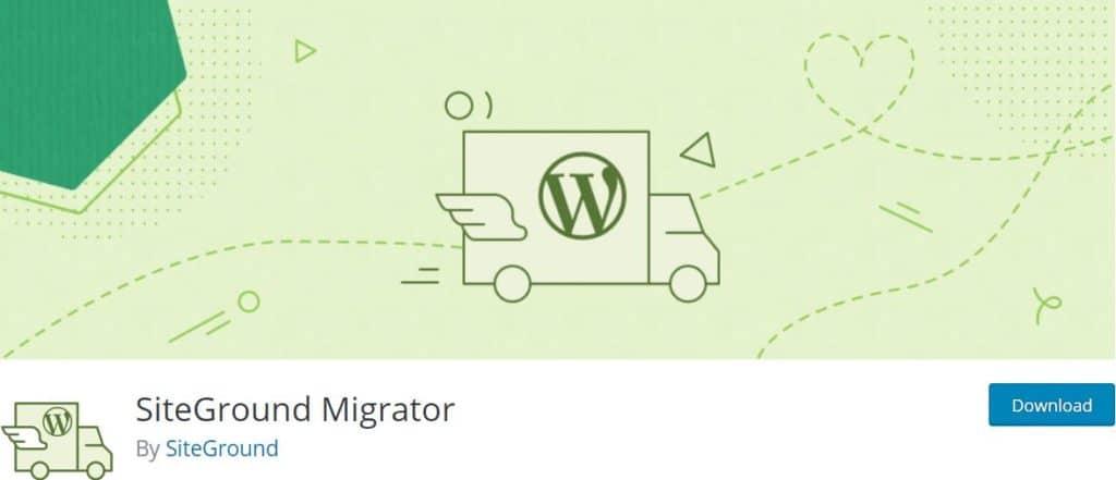 SiteGround WordPress Migrator
