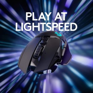 Play at Lightspeed - Logitech G502