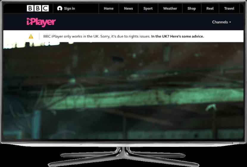 BBC iPlayer Fernseher Fehlermeldung