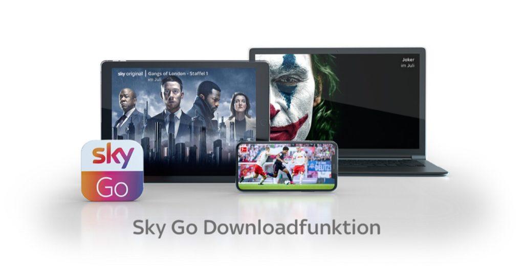 Sky Go Geräte