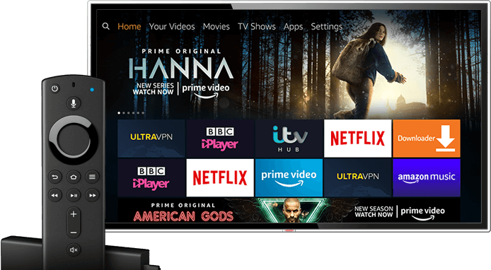VPN fuer Amazon Prime Video FireTV