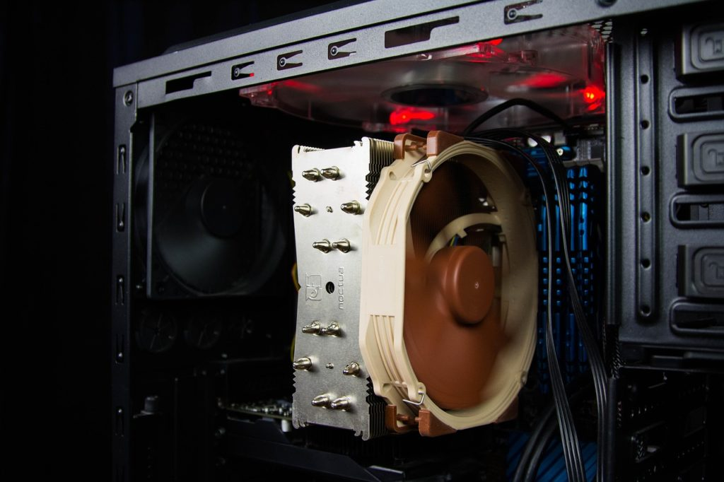 CPU Kühler in einem PC
