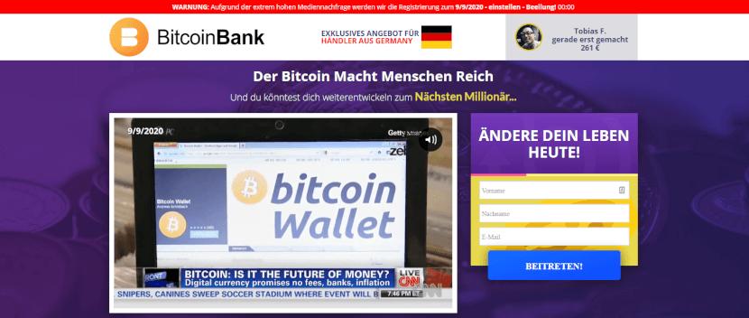 Bitcoin Bank Review