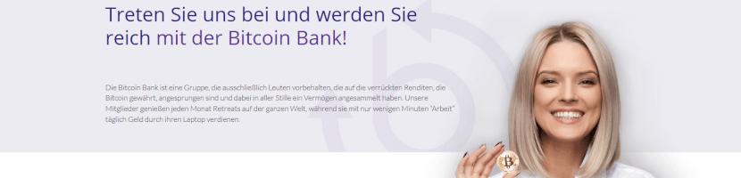 Bitcoin Bank Test