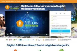 Bitcoin Billionaire Webseite