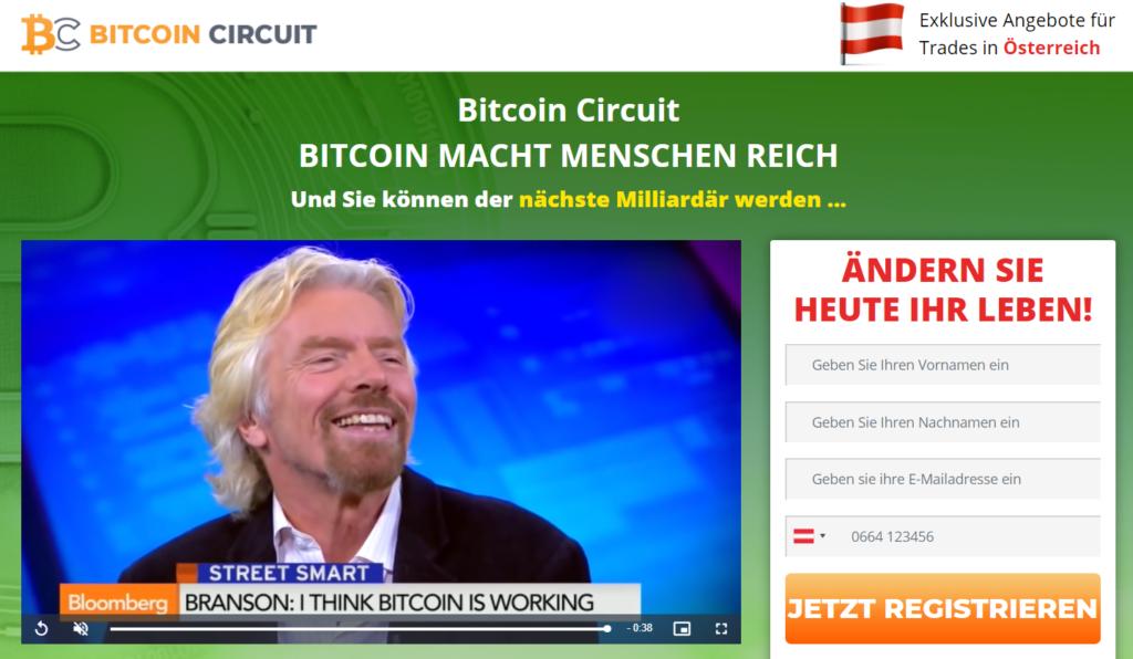 Bitcoin Circuit Scam