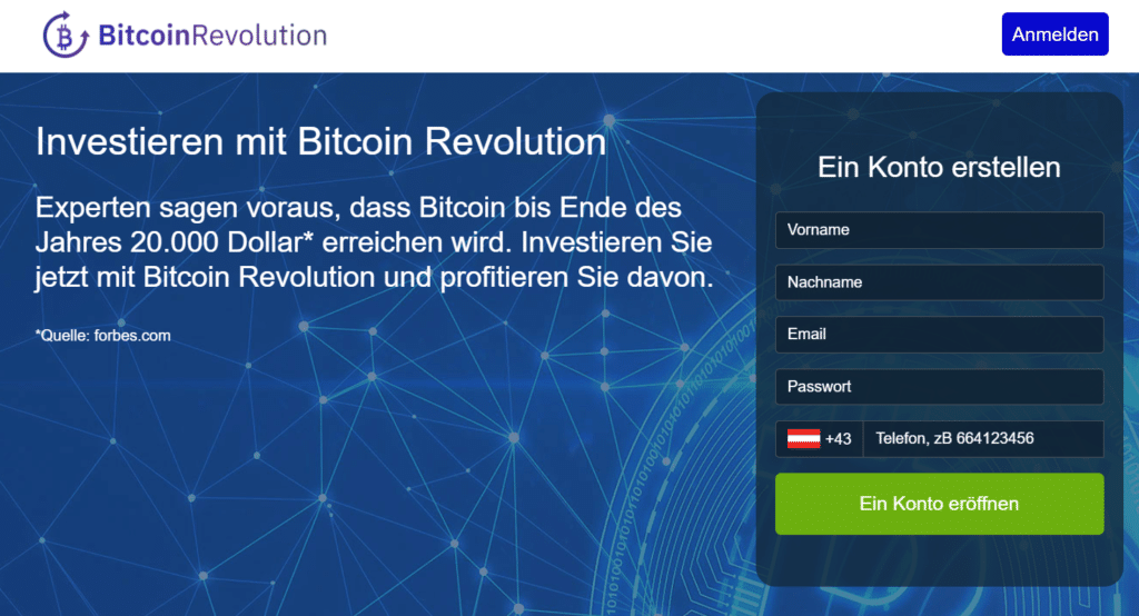 Bitcoin Revolution Erfahrung