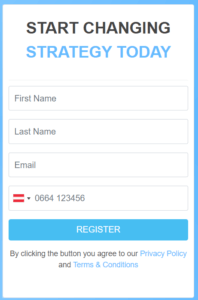 Bitsignal Registrierung