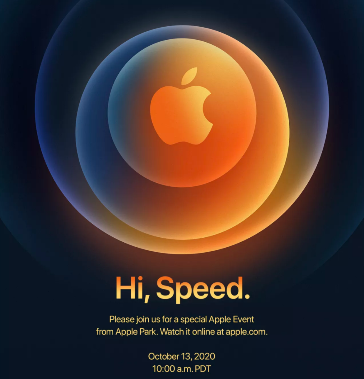 Hi Speed - iPhone 12 mit 5G Poster