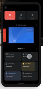 Power Tasten Menü in Android 11