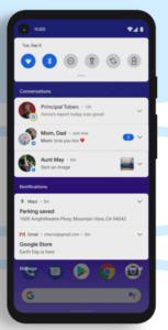 Android 11 - Benachrichtigungsverlauf