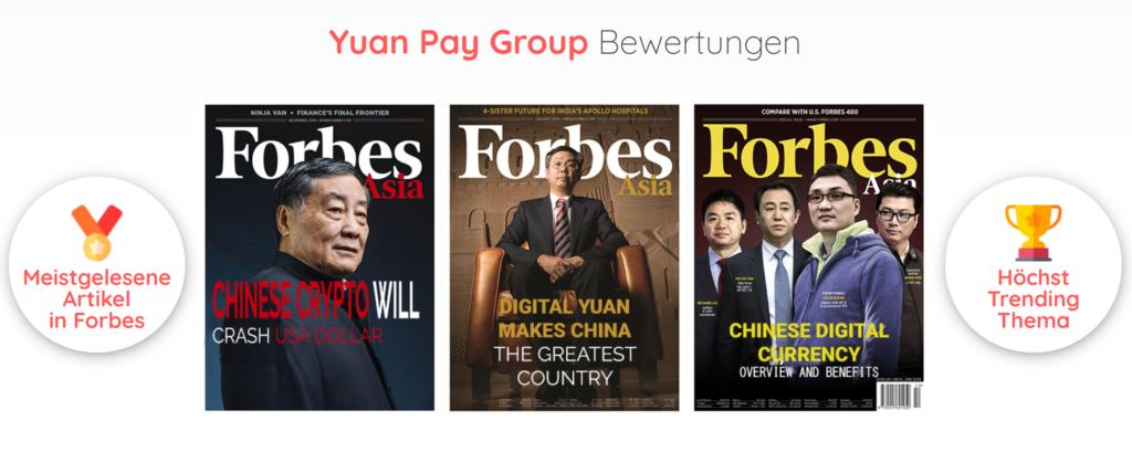 Yuan Pay Group Bewertungen