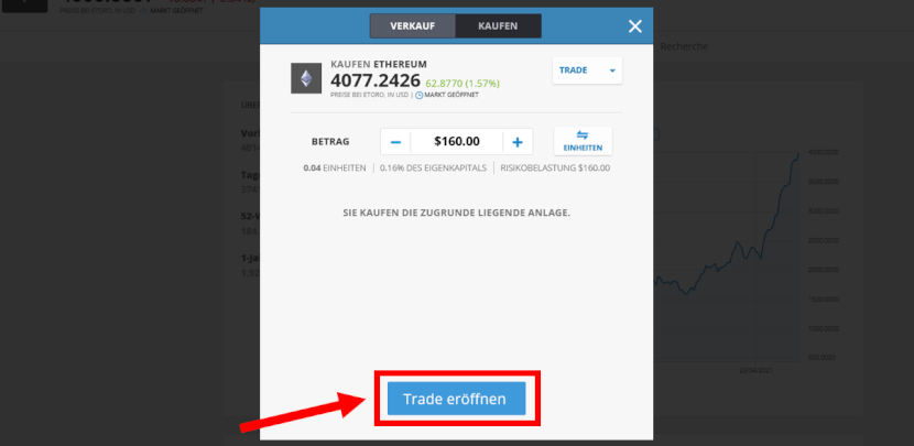 Ethereum kaufen eToro