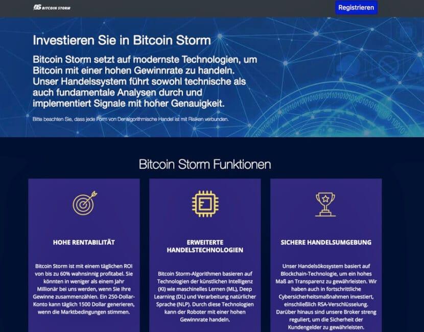 bitcoin strom website
