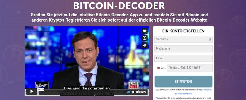 Bitcoin Decoder Test